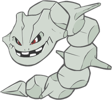 208. Steelix by HappyCrumble