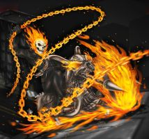 Ghost Rider [Unfinished] by Sparkleee-Sprinkle