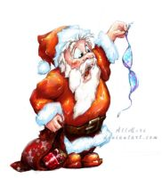 - What?? :D jolly Santa by AllMore