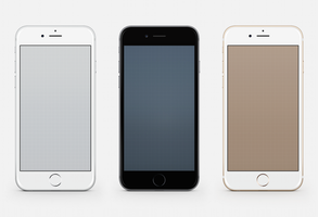 Grid iPhone Wallpapers for iPhone 6 and 6 Plus by kiwimanjaro