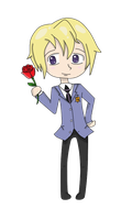 Chibi Tamaki - AT by Naomz