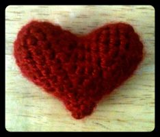 Crochet Heart by tape-artist