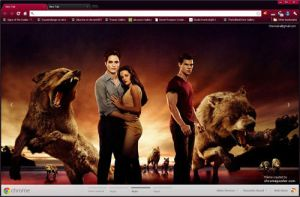 Twilight Saga Breaking Dawn 2 Chrome Layout by vrkm2003