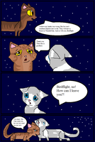 FQ Prologue-Page 13; CloudxBird say Goodbye by skyclan199