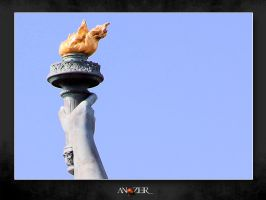 TORCH OF LIBERTY by ANOZER