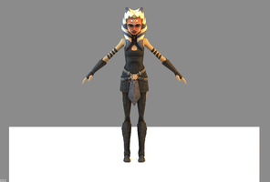 Ahsoka Custom Stealth Armour by Mattpc