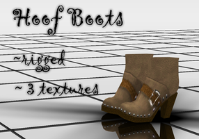 Hoof Boots DOWNLOAD by KohakuUme6