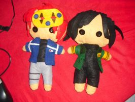 MCR Plushies by AgentHeartbreaker