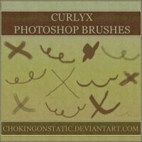 curlyx brushes by chokingonstatic