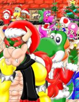The Christmas Party by Bowser2Queen