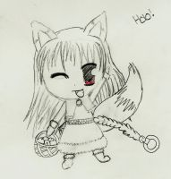Holo in Chibi by manderbear17