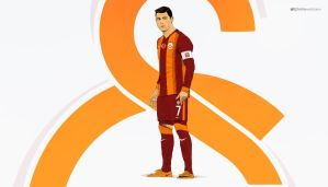 Cristiano Ronaldo - Galatasaray 2015 kit by drifter765