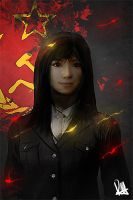 Communist Girl ? by MuhammadRiza