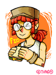 Fio and Sandwich by RageShadows3346