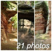 Altschlossfelsen Stock PACK 3 by Malleni-Stock