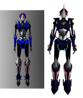 Arcee Comparison 01 by g2mdluffy