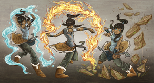 Legend of Korra by Mlain