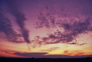 sunset by onecherry
