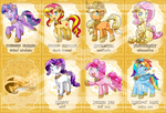 Thailand Pony Con : Collection Cards by vavacung