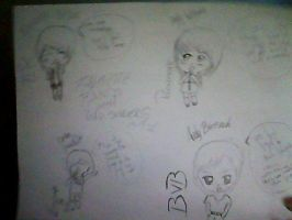 Favorite bands with lead singers chibi part 1 by Fallinginreverse1298