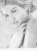 kate upton sports illustrated 2012 by drawinglerp