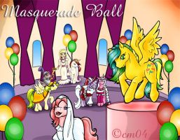 Masquerade Ball by colormist
