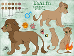 Dhaifu Ref - Commish by JessiRenee