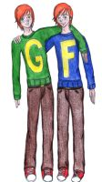 George and Fred by Sparvely