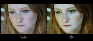 Retouch: Before and After by TheWorldIsTooSmall