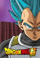DBS: Vegeta Super Saiyan Blue by Dark-Crawler