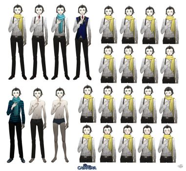 Ryoji for Dear Casanova fangame by OoAmmyoO