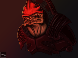 Wrex IS watching by coolhaloboy360