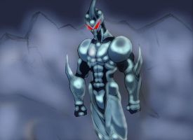 guyver 1 coloring by hotpopcorn