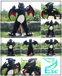 Shiny Charizard Pokemon Fursuit (2014) by Eternalskyy