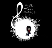 Music...Our Protection by ChibiLuver555