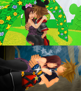 Kingdom Hearts Dreams of Sora and Kairi Forever. by 9029561
