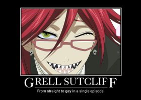 Grell Sutcliff by easterlil