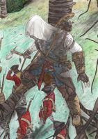 Assassin's Creed III - Peace comes from above by Phoenix74n
