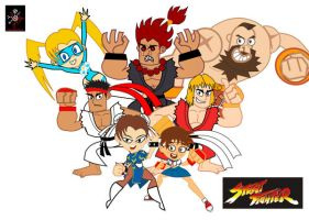 Street fighter,El tigre stile by CrimsonFace