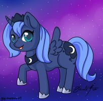 Cute Princess Luna by gigithestar07