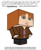 Cubeecraft - Donna Noble by CyberDrone