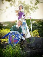 Link Cosplay - Courage+Wisdome by Eressea-sama