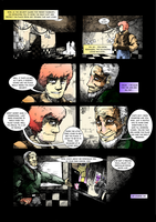Five Nights at Freddy's : Day and Night page 3 by BrianXKaren