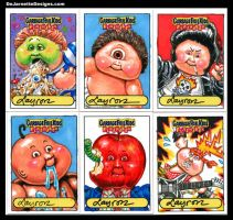 GPK Flashback sketch cards 1 by DeJarnette