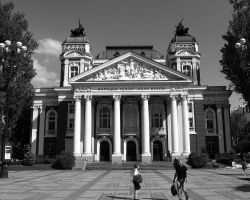 Ivan Vazov National Theatre I by SaitoV