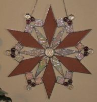 Stained Glass Snowflake by lenslady