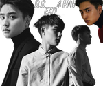 D.O (EXO) [PNG PACK] by ByMadHatter