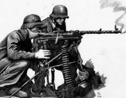 MG-34 Eastern Front by cccp-lord-soth