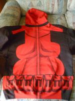2nd Deadpool Cosplay Hoodie - Preview by Linksliltri4ce