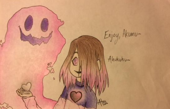 Glitchtale - Betty and Kumu by pandahandsome